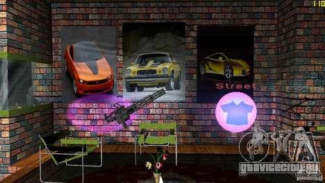 Ретекстур номера в отеле для GTA Vice City четвёртый скриншот