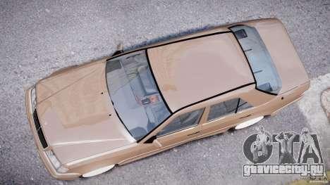 Mercedes-Benz W124 E500 1995 для GTA 4 вид сверху