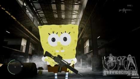 Спанч Боб для GTA 4 шестой скриншот