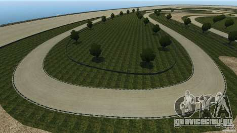 Dakota Raceway [HD] Retexture для GTA 4 одинадцатый скриншот