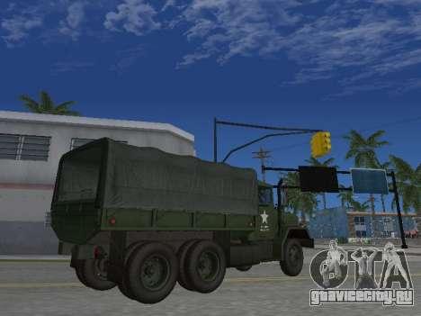 AM General M35A2 для GTA San Andreas вид сбоку