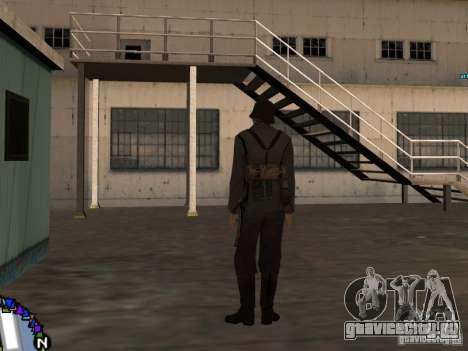 Унтерофицер Вермахта для GTA San Andreas третий скриншот