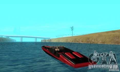 GTAIV TBOGT Smuggler для GTA San Andreas вид сзади слева