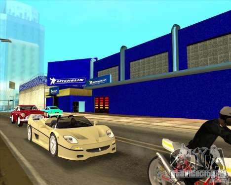 Garage Michelin для GTA San Andreas третий скриншот