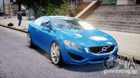 Volvo S60 Concept для GTA 4 вид сзади