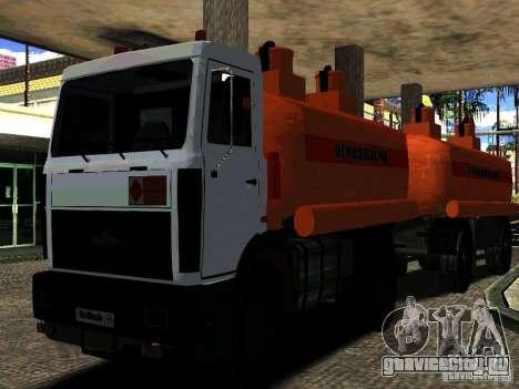 МАЗ 533702 Бензовоз для GTA San Andreas