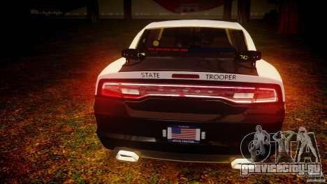 Dodge Charger 2012 Florida Highway Patrol [ELS] для GTA 4 вид снизу