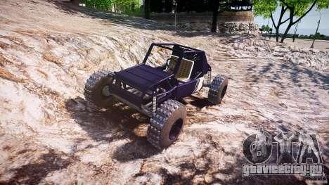 Buggy beta для GTA 4 вид сзади