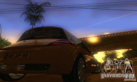 Renault Megane RS II V1.0 для GTA San Andreas вид сзади
