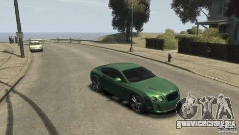 Bentley Continental SS для GTA 4 вид сзади слева