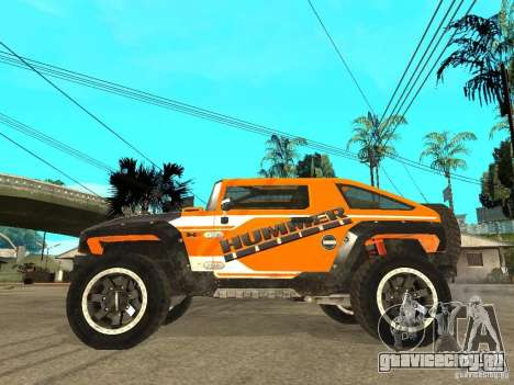 Hummer HX Concept from DiRT 2 для GTA San Andreas вид слева