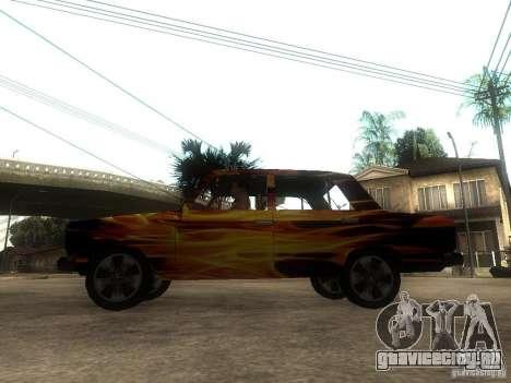 ВАЗ 2106 из игры S.T.A.L.K.E.R. для GTA San Andreas вид слева