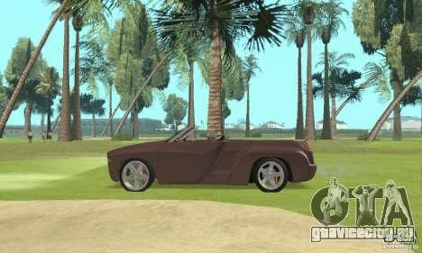 Dodge Sidewinder Concept 1997 для GTA San Andreas вид справа
