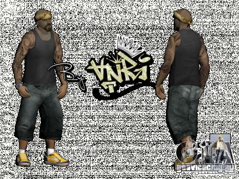 Gagns skinpack by AnRi для GTA San Andreas третий скриншот