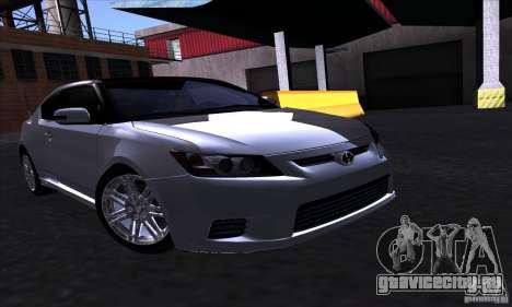 Scion Tc 2012 для GTA San Andreas