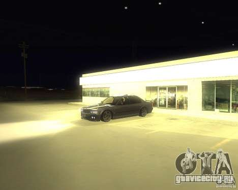 BMW 740i Update для GTA San Andreas вид справа