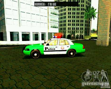 Ford Crown Victoria 2003 Police Interceptor VCPD для GTA San Andreas вид слева