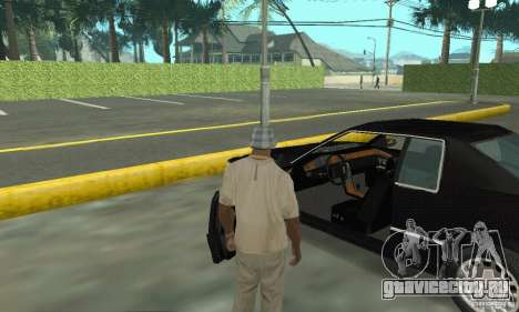 Cadillac Eldorado 1996 для GTA San Andreas вид сзади
