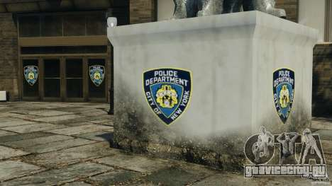 Remake second police station для GTA 4