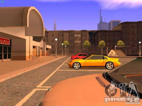 New Euros для GTA San Andreas вид изнутри
