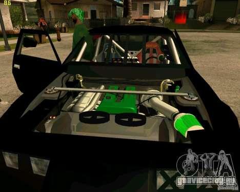 Hotring Racer Tuned для GTA San Andreas вид снизу
