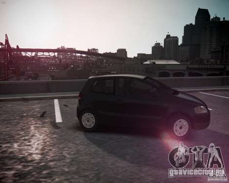 Volkswagen Fox 2011 для GTA 4 вид слева