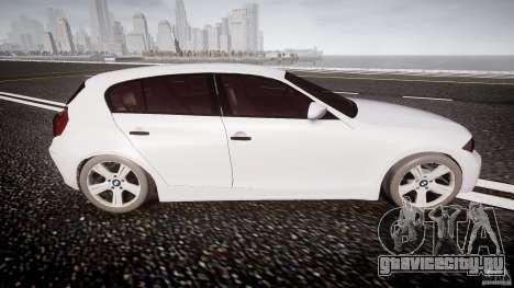 BMW 118i для GTA 4 вид сбоку
