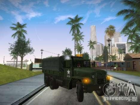 AM General M35A2 для GTA San Andreas вид слева