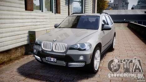 BMW X5 xDrive 4.8i 2009 v1.1 для GTA 4
