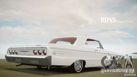 Chevrolet Impala SS 1964 для GTA 4 вид сзади слева