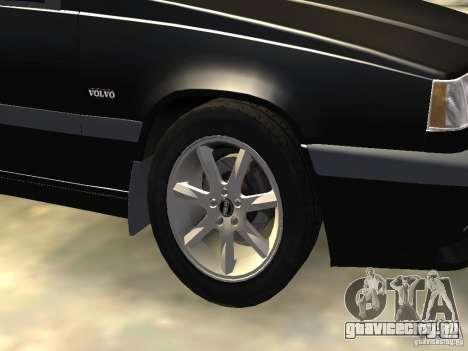 Volvo 850 R 1996 Rims 1 для GTA 4 вид сбоку