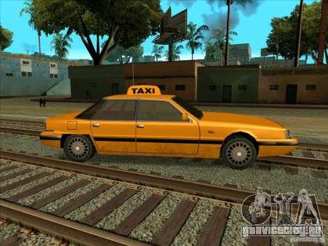 Intruder Taxi для GTA San Andreas вид справа