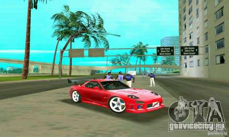 Mazda RX7 Charge-Speed для GTA Vice City