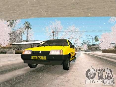 ВАЗ 21093i ТМК Форсаж для GTA San Andreas вид сзади