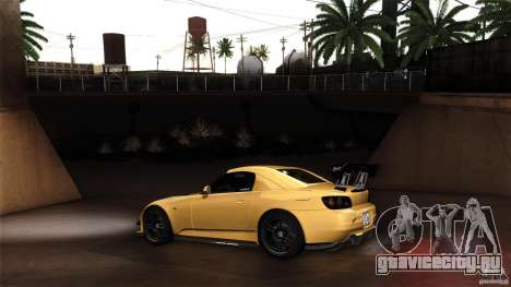 Honda S2000 JDM для GTA San Andreas вид сзади