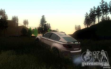 Bmw X6 M Lumma Tuning для GTA San Andreas вид сбоку