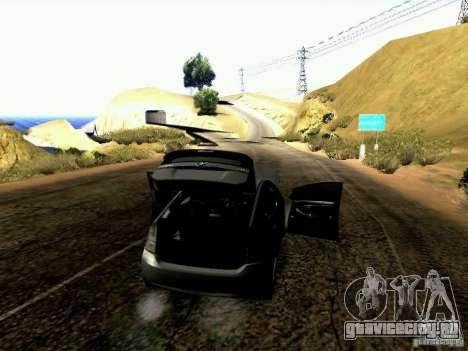 Toyota Prius Hybrid 2011 для GTA San Andreas вид сбоку
