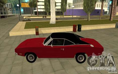 Dodge Charger R/T 1969 для GTA San Andreas вид слева
