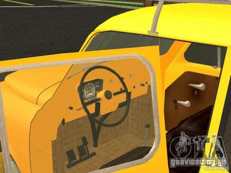 ЗАЗ 965М для GTA San Andreas вид сзади слева