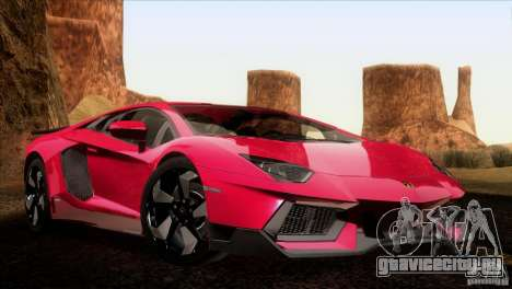 Lamborghini Aventador LP-700 J для GTA San Andreas