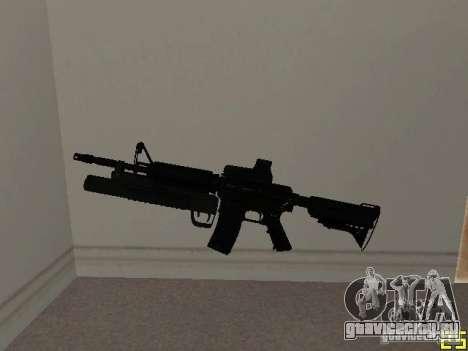 M4 MOD v3 для GTA San Andreas