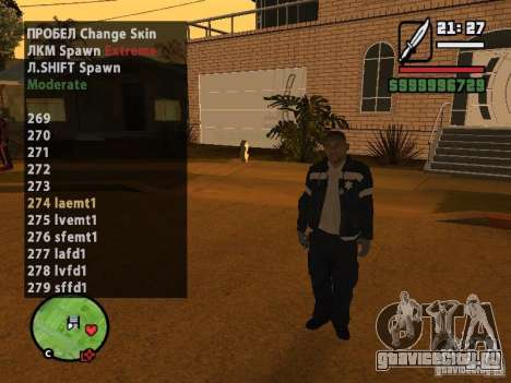 GTA IV peds to SA pack 100 peds для GTA San Andreas пятый скриншот