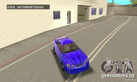 Toyota Celica GT4 2000 для GTA San Andreas двигатель