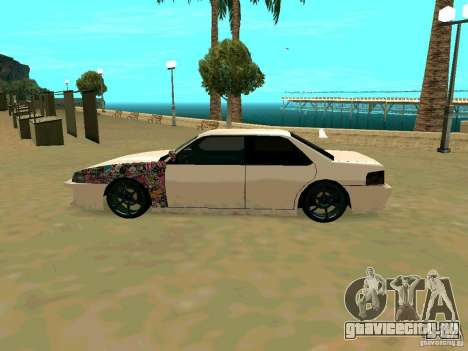 New Sultan v1.0 для GTA San Andreas вид сзади