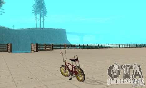 CUSTOM BIKES BIKE для GTA San Andreas вид сзади слева
