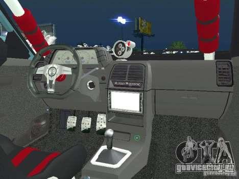 ВАЗ 2110 ADT Tuning для GTA San Andreas вид сзади слева