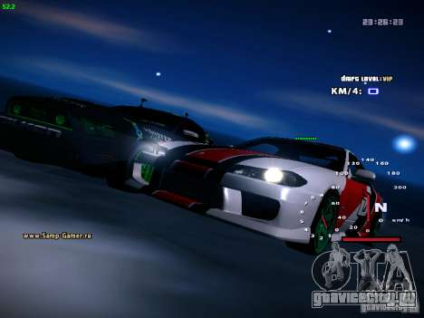 Nissan Silvia S15 DragTimes для GTA San Andreas