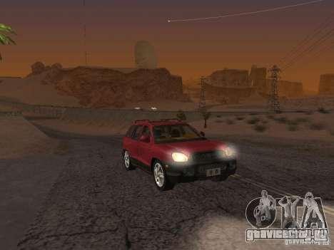 Hyundai Santa Fe Classic для GTA San Andreas