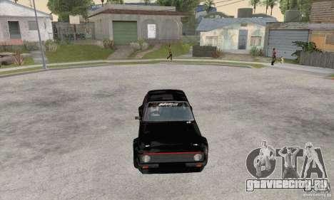 Ford Escort Mk2 для GTA San Andreas вид сзади слева