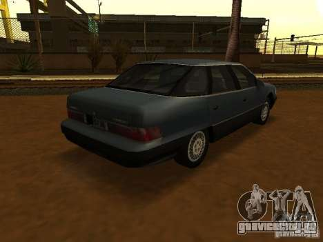 Mercury Sable GS 1989 для GTA San Andreas вид слева